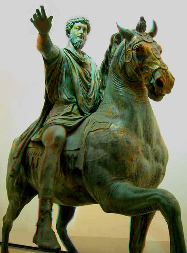 מרקוס אורליוס. 121-180 לספירה