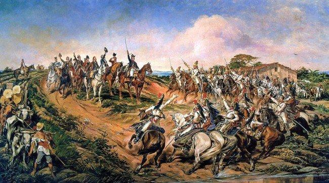 """""""עצמאות או מוות \ זעקת איפירנגה"""". פדרו אמריקו. 1888"""