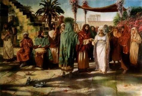 חתונה יהודית קדומה